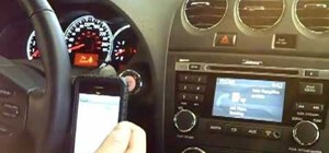 Pair your phone using bluetooth in 2010 Nissan Altima