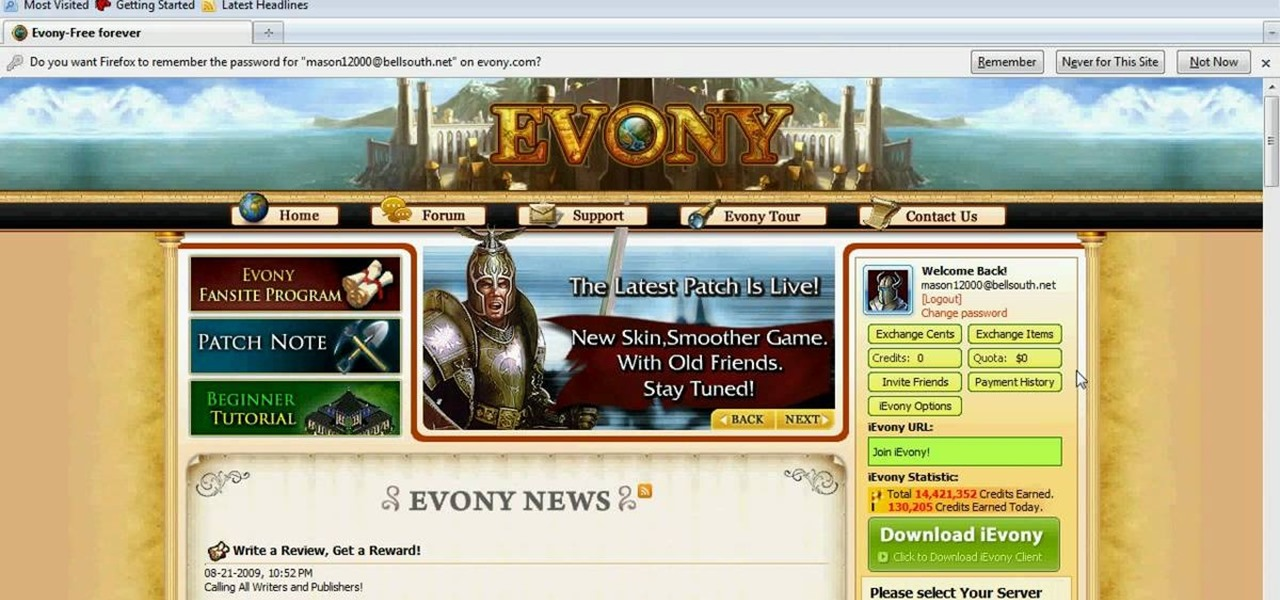 How To Speed Hack Evony With Cheat Engine 10 04 09 Web Games