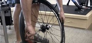Change a bike tire step by step