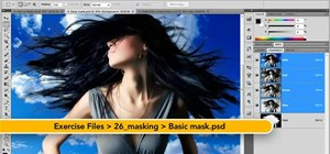 Create simple masks in Adobe Photoshop CS5