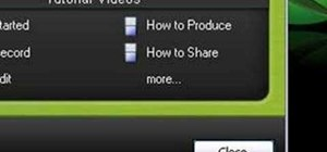 Get started with Camtasia