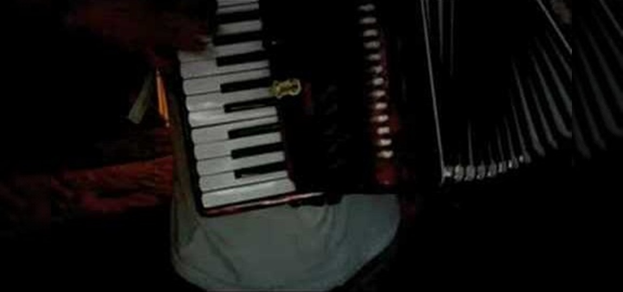 How To Play Elephant Gun By Beirut On The Accordion Accordion