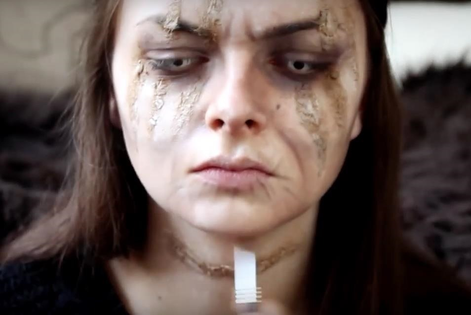 Game of Thrones: DIY Lady Stoneheart Makeup Effects for Halloween