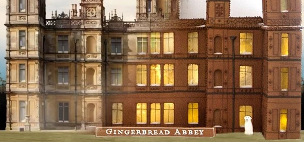Build a Gingerbread Downton Abbey (With Martha Stewart)