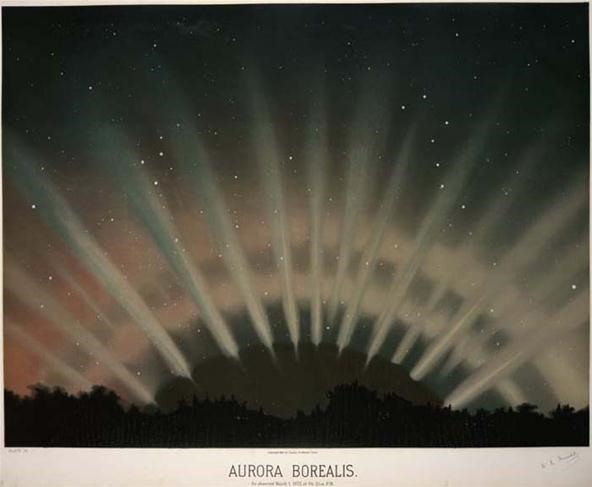 Trouvelot's Amazing Celestial Illustrations from the 1800s