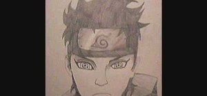 Draw Shisui Uchiha from Naruto