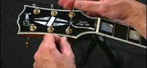 Restring guitars with a stop-bar tailpiece