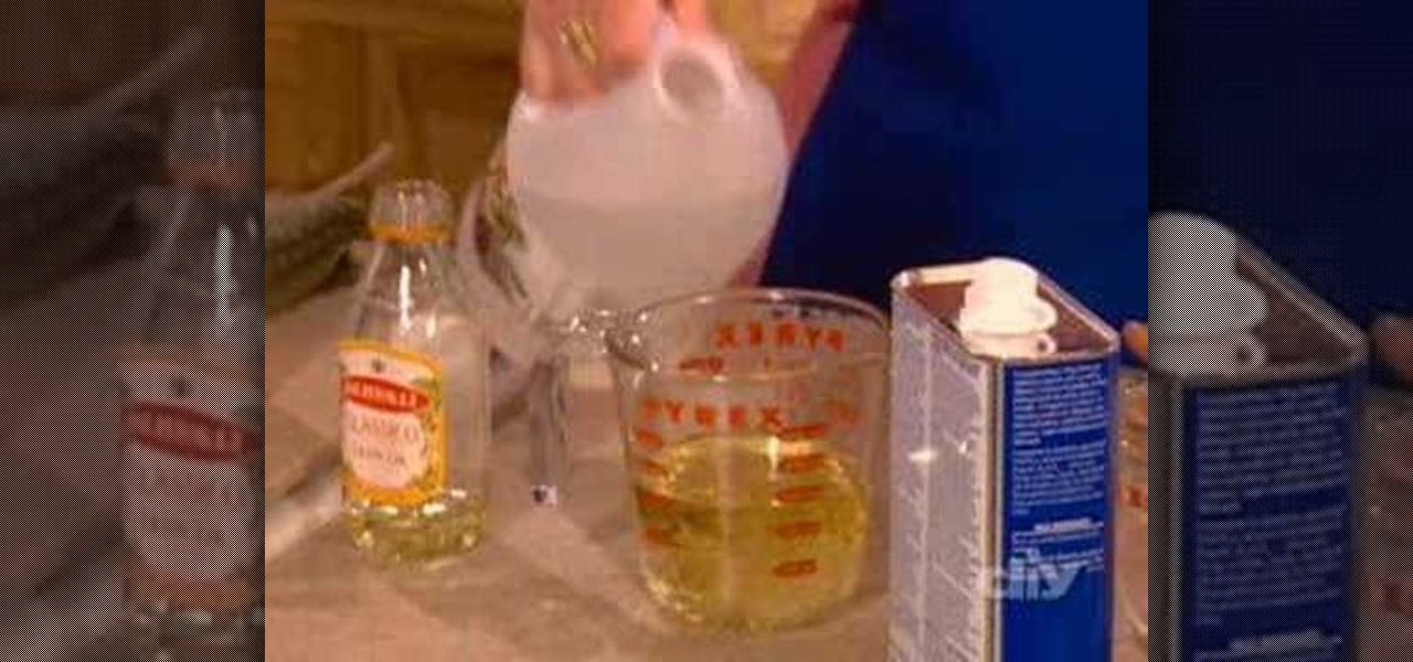 How to make natural homemade furniture polish housekeeping for Homemade furniture polish mineral oil