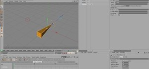 Use Aim parameters in the Cinema 4D Constraint Tag