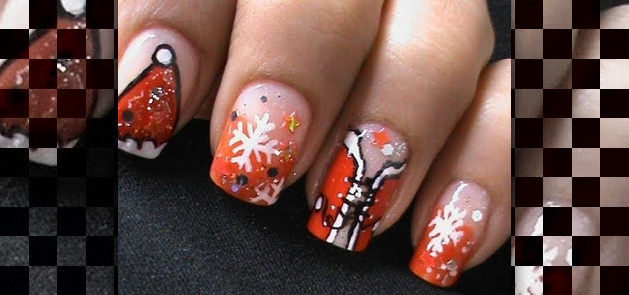 Do SEXY SANTA GIRL Nails ?!