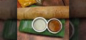 Make masala dosa