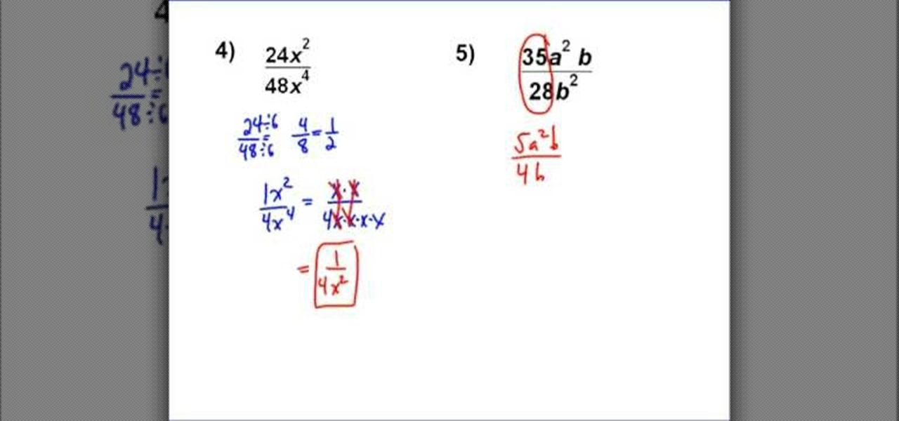 How to Simplify complex fractions with variables « Math :: WonderHowTo