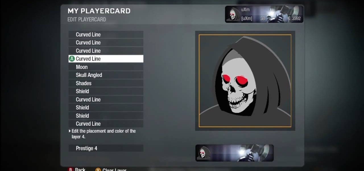 How to Create a Grim Reaper playercard emblem in Call of ...