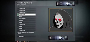 Create a Grim Reaper playercard emblem in Call of Duty: Black Ops