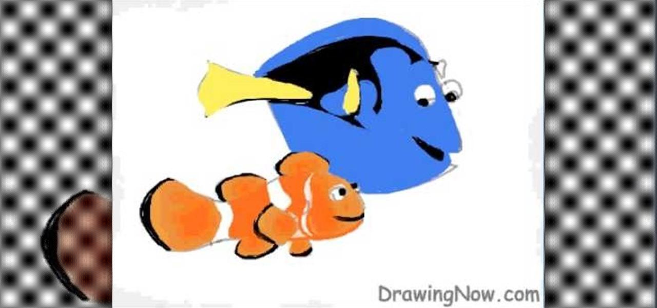 Nemo Snapchat Drawings How to Draw Disney's Nemo