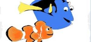 Draw Disney's Nemo & Dory