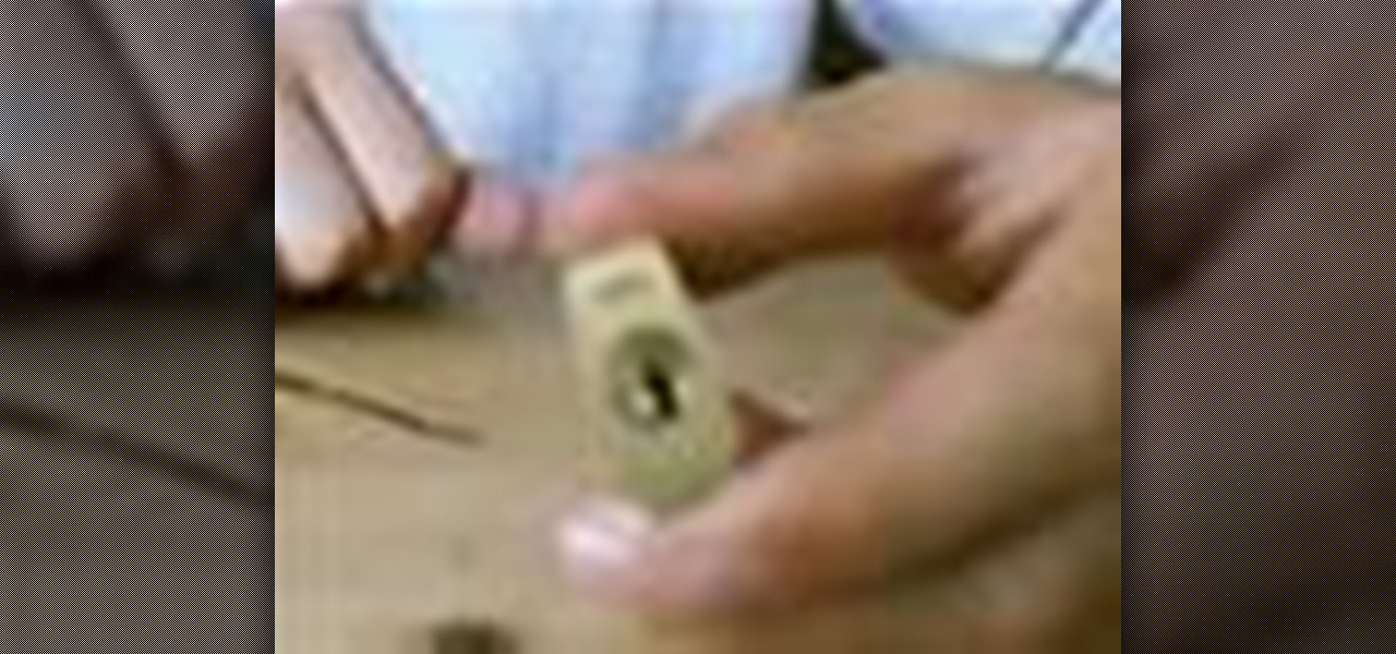 How to Pick a lock using household items « Cons :: WonderHowTo