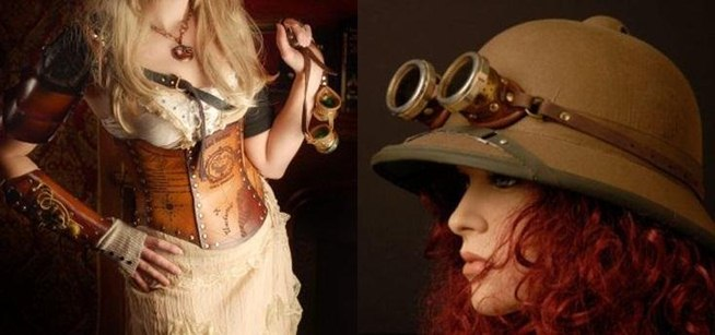 Clothes stores. Steampunk clothing store