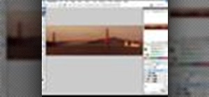 Make panoramic images in Photoshop CS3 with Photomerge