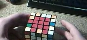 Pair the edges on a 5x5 Rubik's Cube