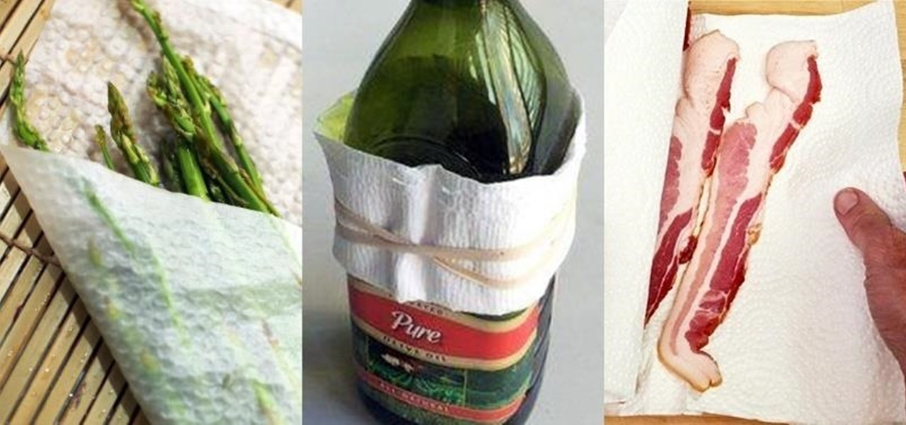 10 Paper Towel Hacks for Your Kitchen & Beyond