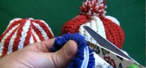 Make a Pom-Pon pom pom for baby hats
