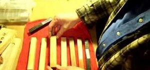 Use wood and acrylic blanks for pen making
