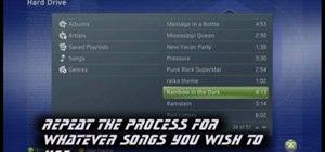 Set WWE SmackDown vs. Raw 2009 to custom music