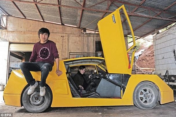 How Did a Chinese Truck Driver Manage to Build His Own DIY Lamborghini?