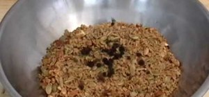 Make homemade granola