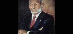 Draw portrait in chalk pastels
