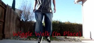 Do the advanced Wiggle Walk style C-Walk