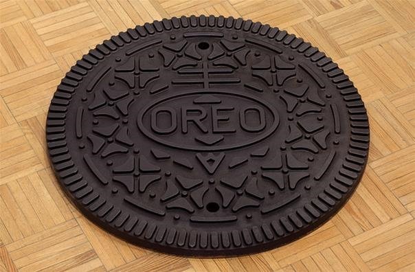 Oreo Manhole Cover