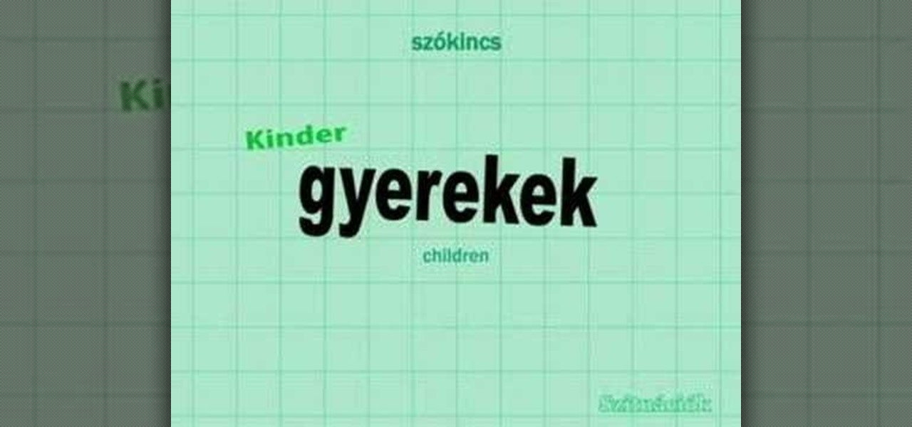 How to say a few hungarian greetings other languages wonderhowto m4hsunfo