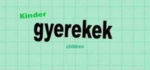 Say a few Hungarian greetings