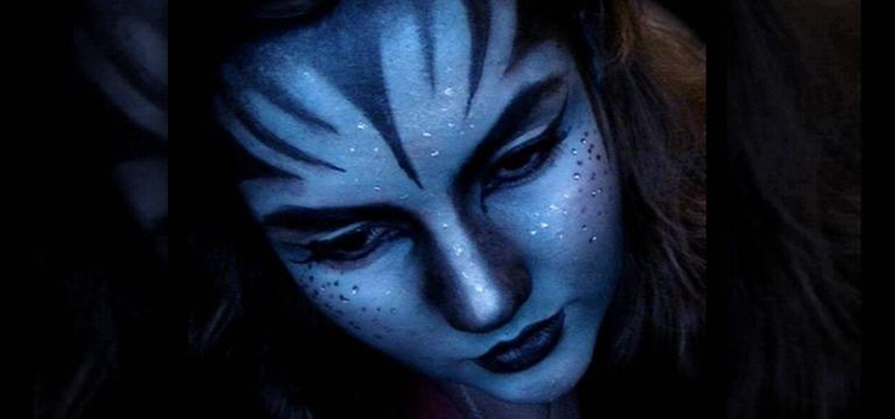 How To Create An Avatar Na Vi Makeup