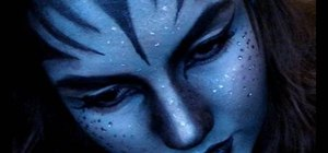 Create an Avatar Na'vi makeup look