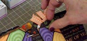Make a Halloween mini tag album w/ Cricut TBBM