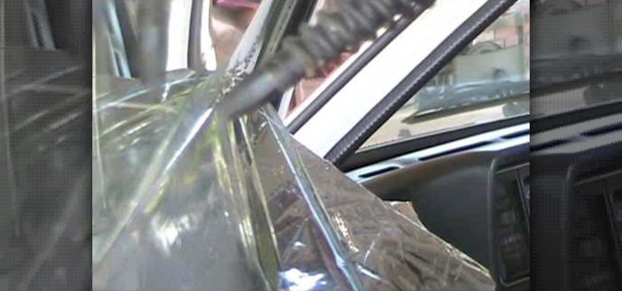 How to Remove window tint at home « Auto Maintenance ...