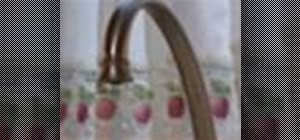 Fix a leaky faucet without calling the plumber