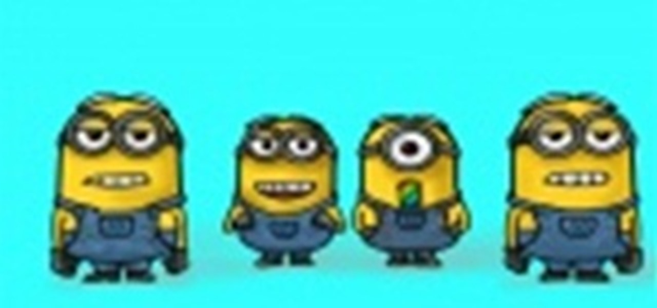 Draw Minions from Despicable Me 2