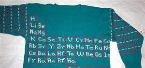 Knit the Periodic Table