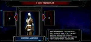 Unlock Star Wars The Force Unleashed Costume cheats