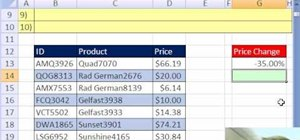 Decrease values in Microsoft Excel