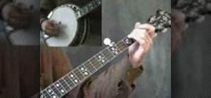 Play Down the Road on the banjo