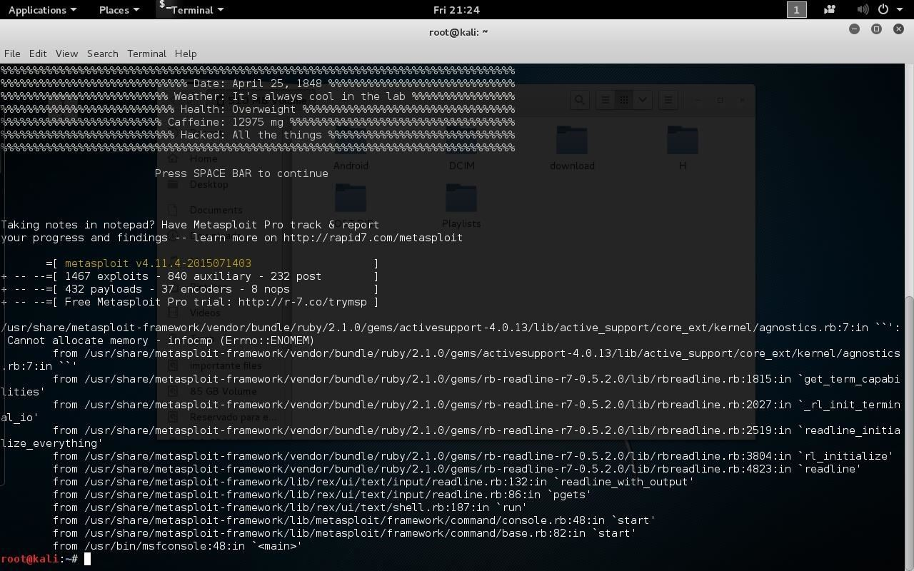 Create and Use Android/Meterpreter/reverse_tcp APK with