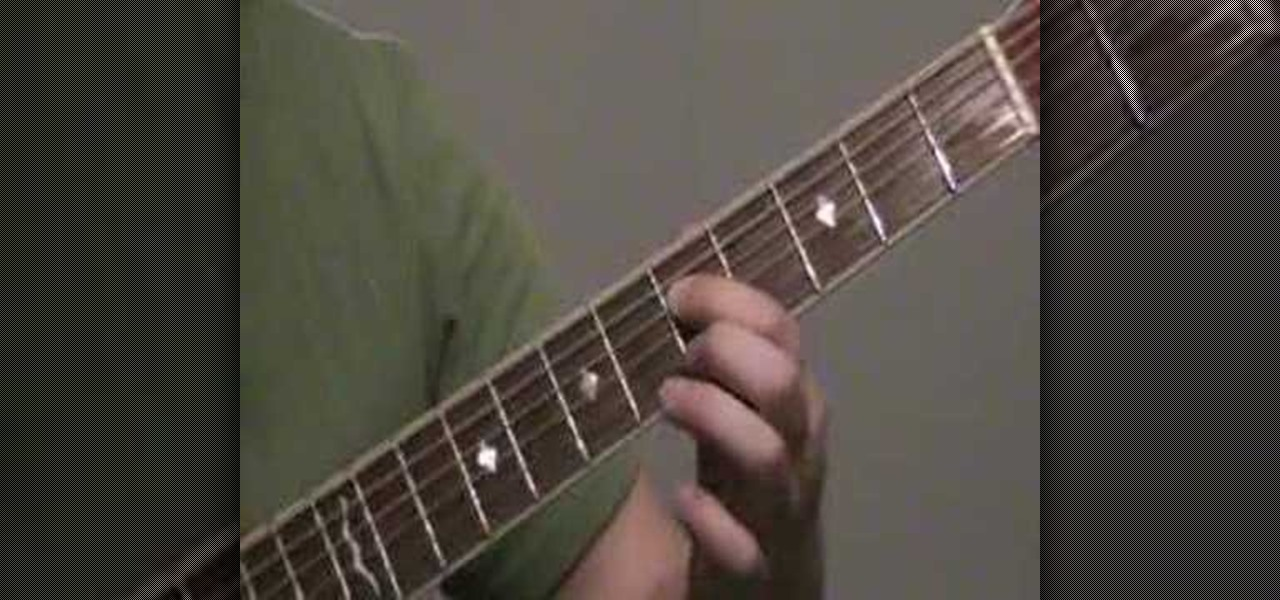 How To Play Nirvana Smells Like Teen Spirit On Your Guitar