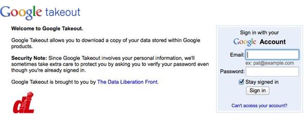 How to Download Your Data with Google Takeout