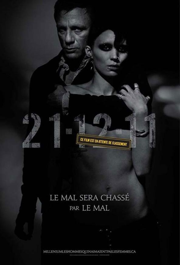 The Girl with the Dragon Tattoo - Movie Trailer - The David Fincher Verison