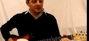 """Play """"Highway to Hell"""" by AC/DC on the guitar"""